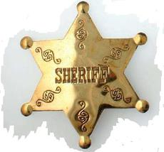"Messingstern ""Sheriff\"""