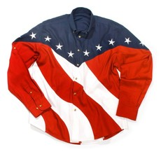 "Rodeo-Hemd ""US-Flag\"""