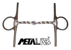 "Metalab Full Cheek Bit ""Square Twisted\"""