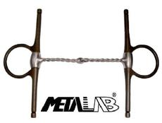 "Metalab Full Cheek Bit ""Twisted Wire\"""