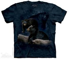 "T-Shirt ""Black Bear Trilogy\"""