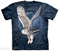 "T-Shirt ""Snow Owl Moon\"""