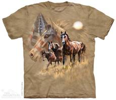 "T-Shirt ""Patriot Horses\"""