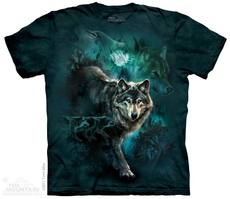 "T-Shirt ""Night Wolves Collage\"""