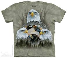 "T-Shirt ""5 Eagle Collage\"""