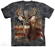 "T-Shirt ""Patriotic Buck\"""