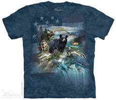 "T-Shirt ""North American Collage\"""