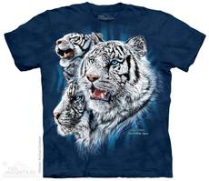 "T-Shirt ""Find 9 White Tigers\"""