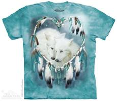 "T-Shirt ""Heart Wolves\"" - Gr. L"