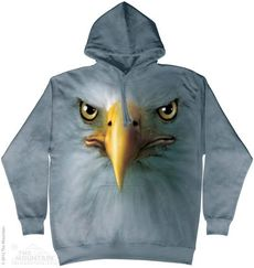 "Hoodie ""Eagle Face\"""