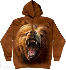 "Hoodie ""Grizzly Growl\"""