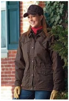 "Ladies Oilskin-Jacke ""Round Up\"""