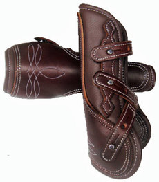 """Cattleman´s\"" Leather Protection Boots"