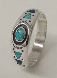 "Ring ""Turquoise\"" - Gr. 10"