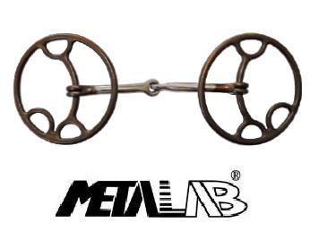 "Metalab Ring Snaffle-Bit ""Lifter\"""