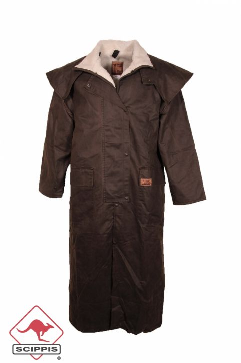 "Dri-Tec Oilskin Winter-Mantel ""Mountain Riding Coat\"""