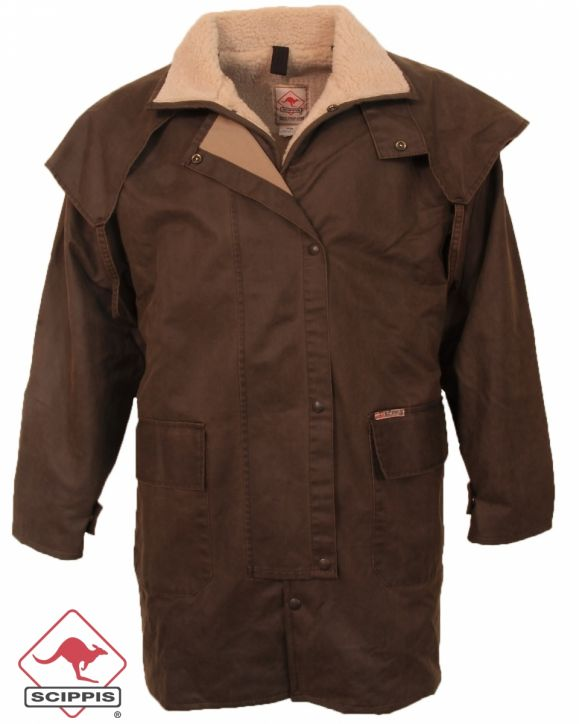 "Dri-Tec Oilskin Winter-Jacke ""Mountain Riding Jacket\"""