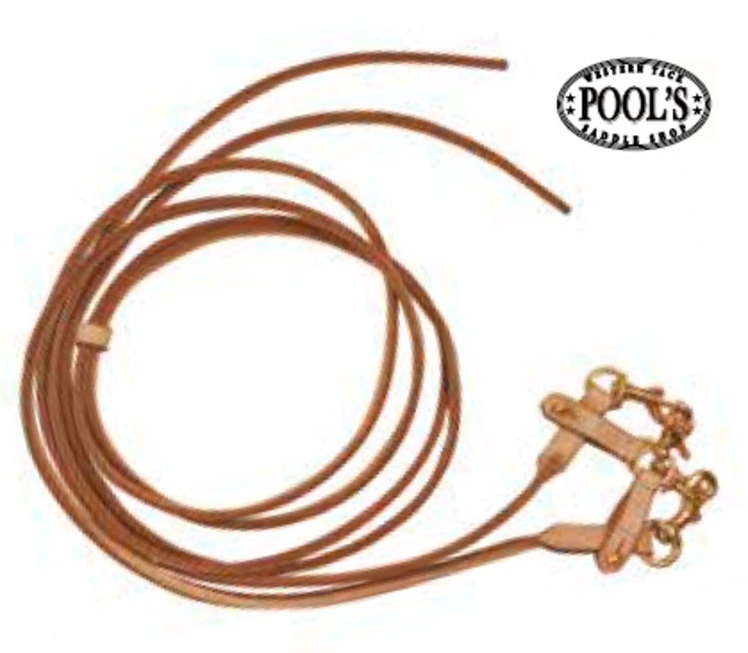 "Pool´s Draw-Reins ""Rounded Leather\""\"""