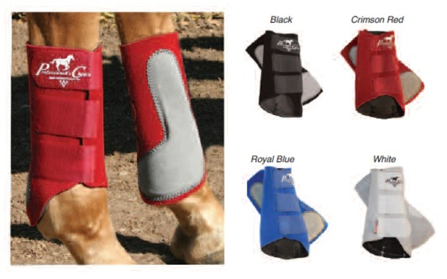 """Prof. Choice\"" Easy-Fit Splint Boots"