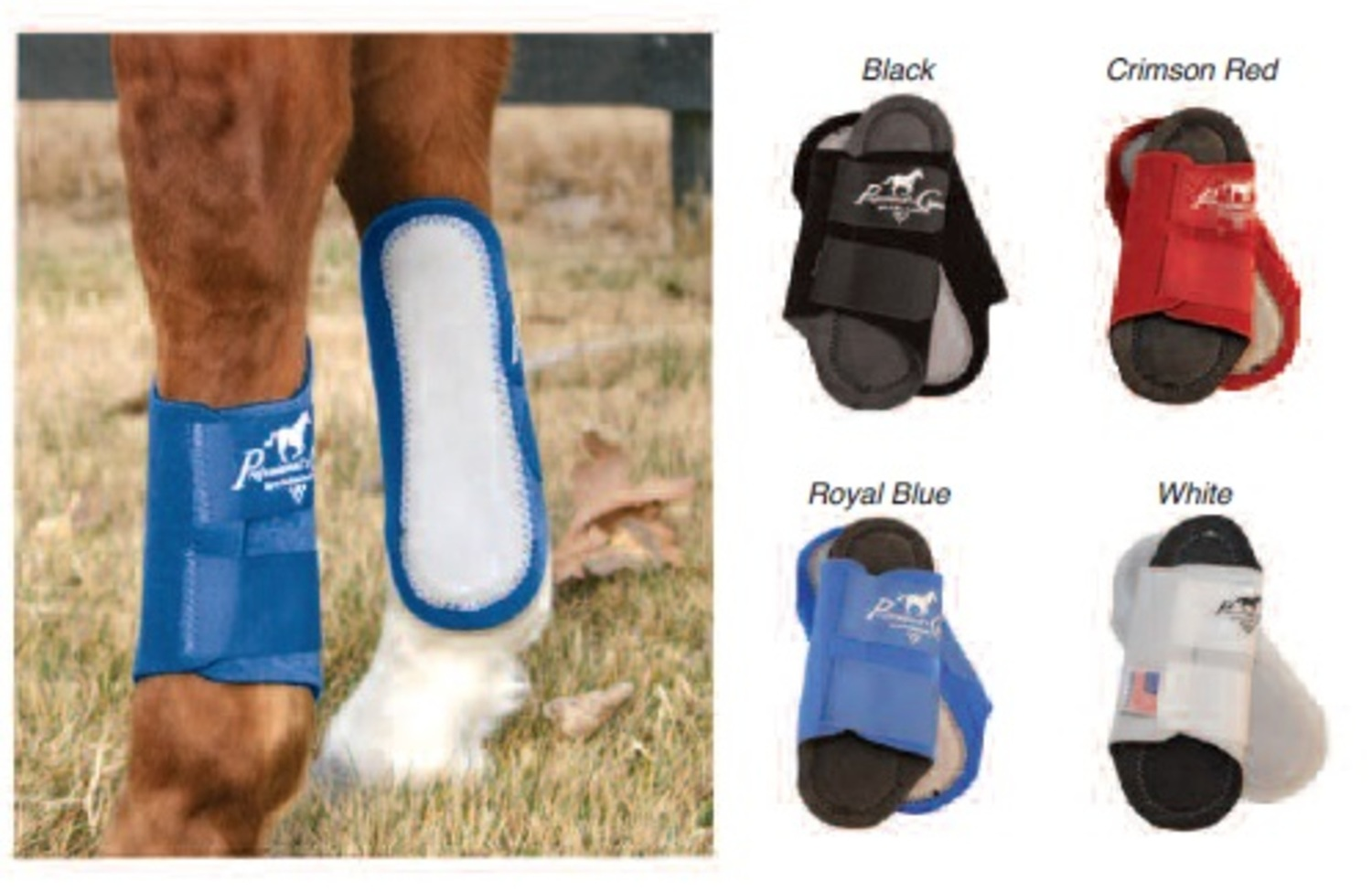 """Prof. Choice\"" Competitor Splint Boots"