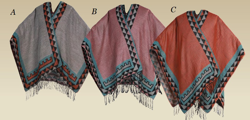 "Poncho ""Indian\"" (A)"