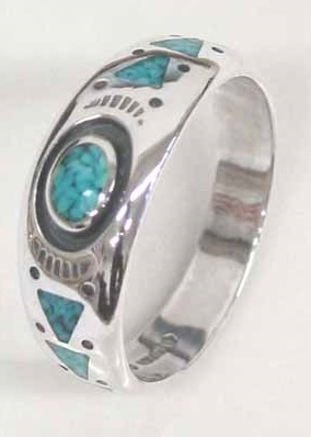 "Ring ""Turquoise\"" - Gr. 12"